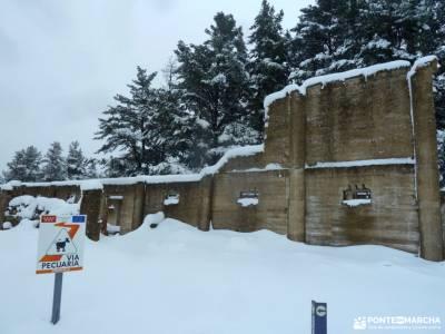 nieve, invierno, cañada; puebla de sanabria lago club guadarrama rios de estonia